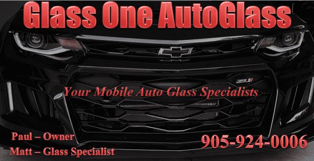 Glass One Auto Glass Logo